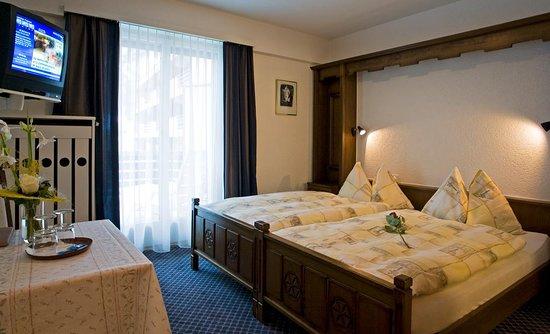 Aparthotel Garni dala - unsere Standardzimmer mit grossem Südbalkon und einzigartiger Aussicht auf die Berge