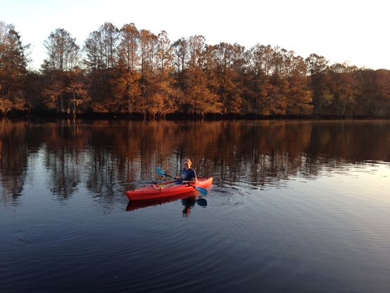 Kayaks, canoes and paddle boat available to our guests at no additional charge.