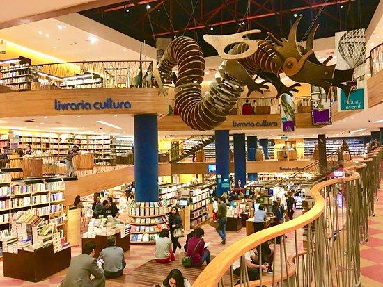 Σάο Πάολο: Librería Cultura.