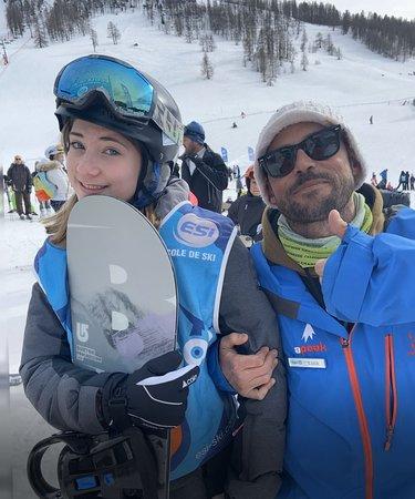 Ski school fun with APEAK..!