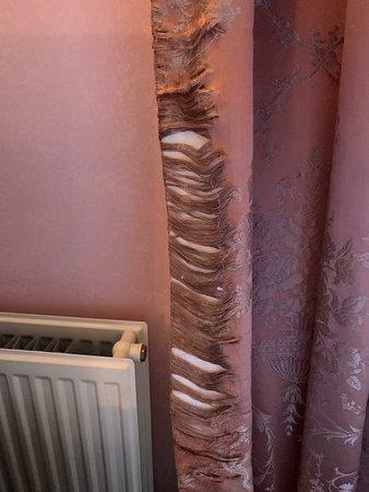'Deluxe' room at Champneys Henlow Grange - so bad we left straight after breakfast.