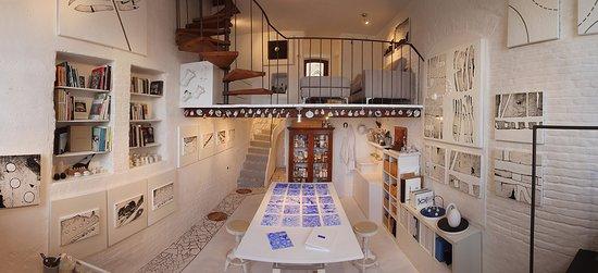 Castelfidardo, Italia: Atelier.