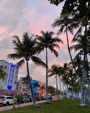 Miami Beach, FL: Ocean Drive during Super Bowl LIV 2020 ♡