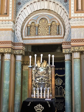 Where the Ark of the Torah sits