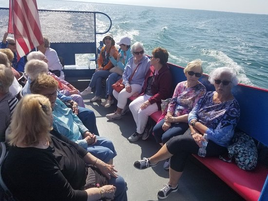 """Caseville, MI: The excursion boat """"Lady of the Lake is a US Coast Guard inspected vessel licensed for 56 passengers"""