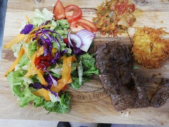 Boen-sur-Lignon, Francia: Faux filet de boeuf