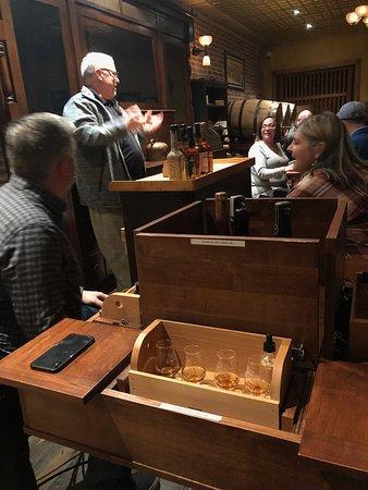Louisville, KY: bourbon tasting