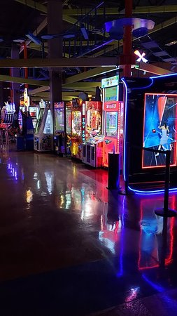 Arcade games are a big hit with people young and old