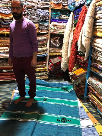 Abdulsalam in his shop