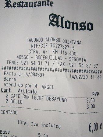 imagen Restaurante Alonso en Boceguillas