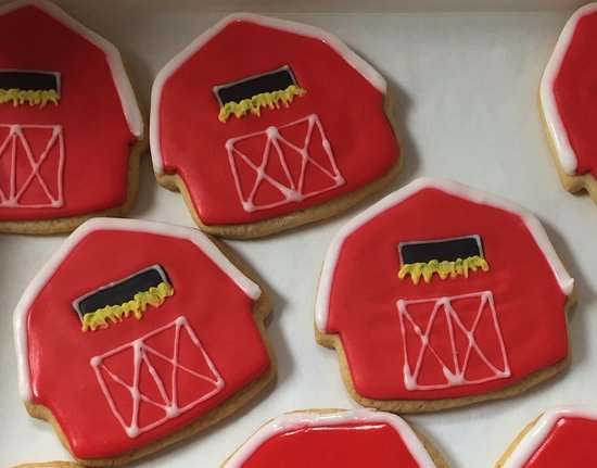 Great cookies made at the Farmer's Daughter Bakery in Jefferson