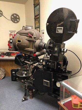 Cut Bank, MT: Old projector