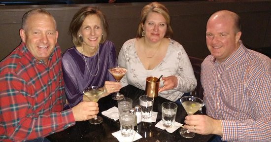 The Stuffed Olive: Cousins and wives out for drinks and dinner