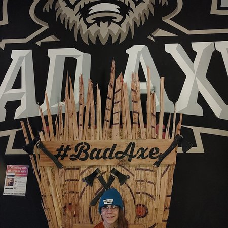 #1 Bad Ax Thrower