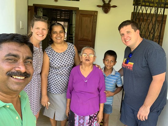 With Jagath's Family