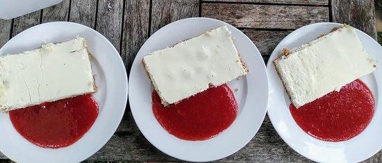 Notre cheesecake au yaourt de brebis !