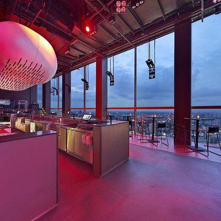 Bar Rouge Singapore.