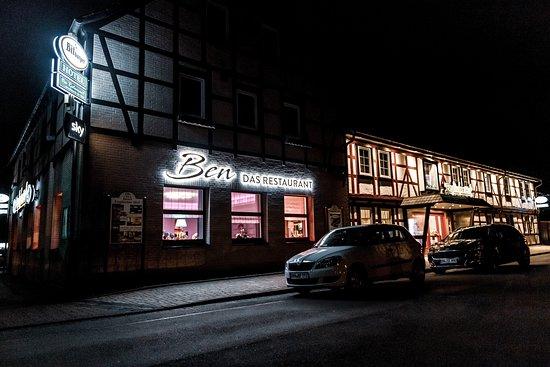Herzberg am Harz, Almanya: Restaurant am Abend