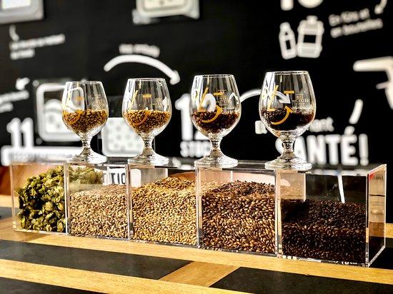 Puidoux, Suiza: La bière, on la fait comment et avec quoi ?
