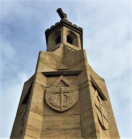 19.  Burwash War Memorial, Burwash, East Sussex;  the 'lantrne des morts' which is lit on the anniversary of the death of every man commemorated on the Memorial