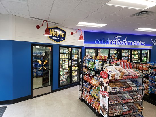Newport, ME: Large selection of cold beverages