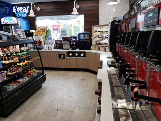 Newport, ME: Wide range of dispensed drink offerings