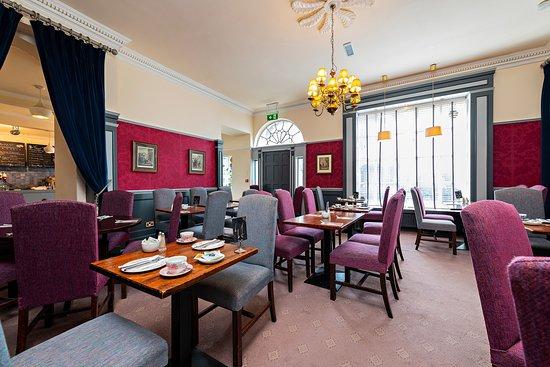 Georgian room at the Old Music Shop Restaurant Dublin