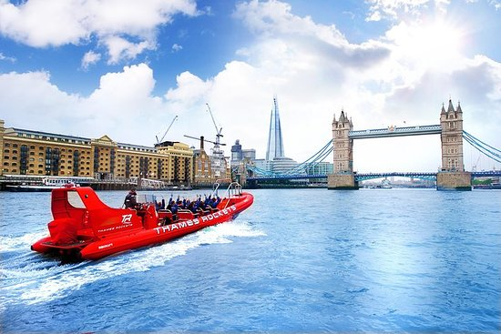 High-Speed Thames River RIB Cruise in...