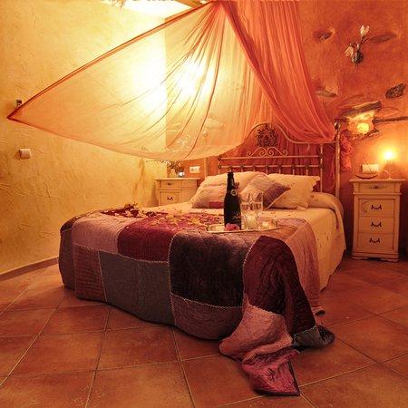 Laroya, España: dormitorio