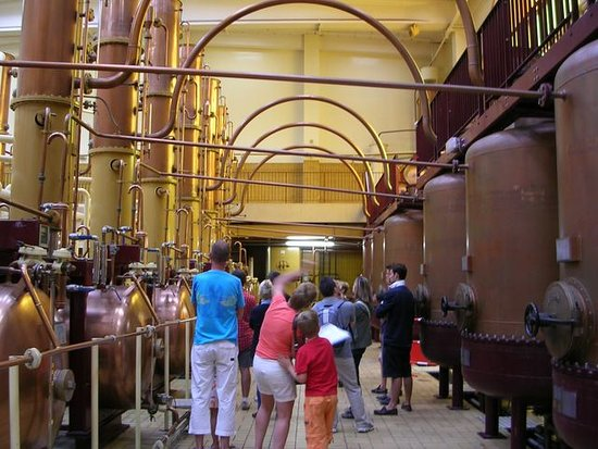 Saint-Barthelemy-d'Anjou, Frankrig: Close to the Château d'Angers castle is the Le Musée Cointreau Museum, dedicated to the famous orange liqueur born in Angers. There is a guided tour in advance, engaging and instructive, perfect tasting, the friendly staff are welcoming.