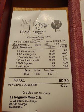Villoria de Orbigo, Spain: Cuenta