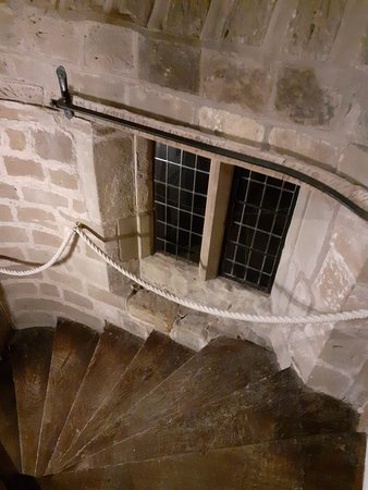 Madeley, UK: spiral staircase