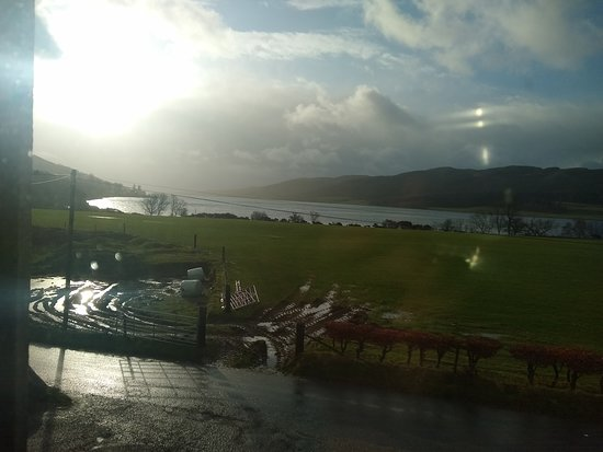 Colintraive, UK: Room with a view