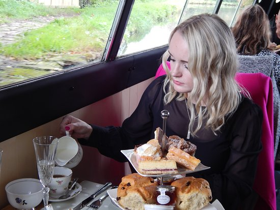 Great Haywood, UK: Our afternoon tea cruises are becoming very popular.