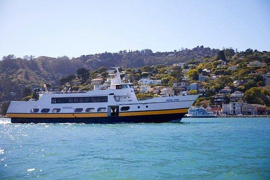 San Francisco færgetur til Sausalito og...