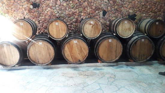 Vayots Dzor Province, Armenië: The wine is kept in these jars, in Armenian we call 'takar'