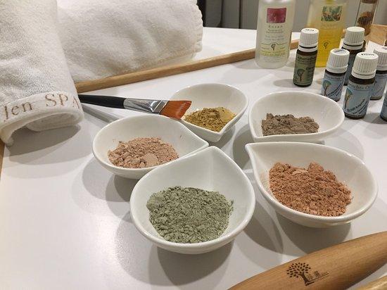 Aromatherapy facial treatment product