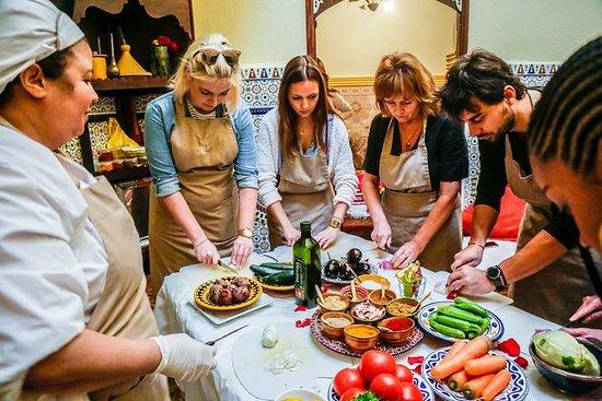Kookles met lokale chef-kok