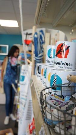 Ile-Tudy, Fransa: Espace boutique