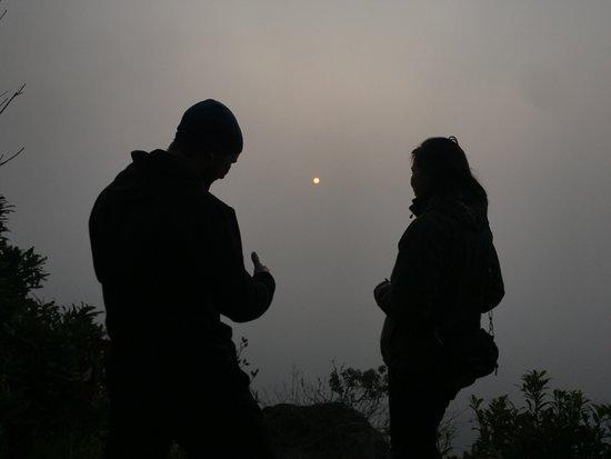 South Sikkim, India: Sunrise