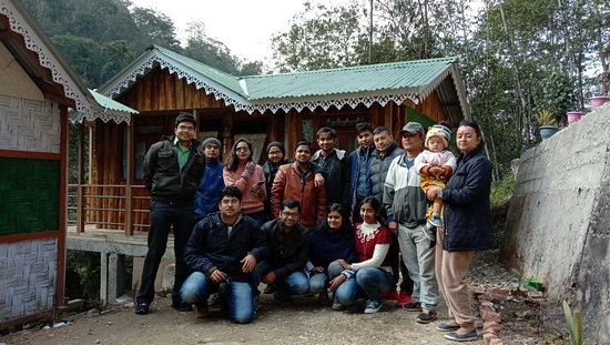 South Sikkim, India: Guest on their trip to ahlaydara farmstay in Republic Day celebration
