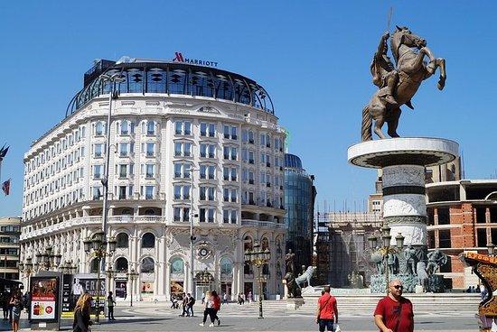 Wanderung in Skopje
