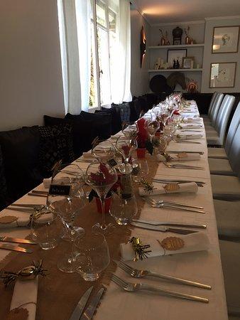 table repas de famille