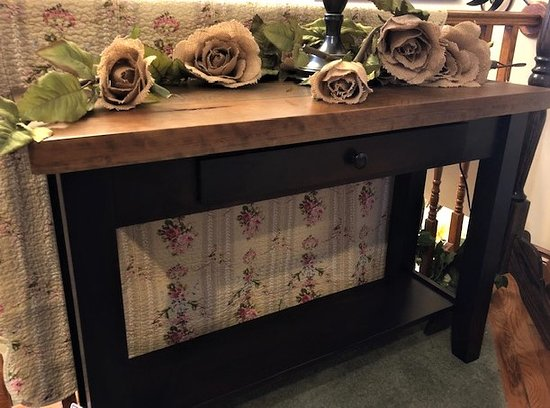 Amish Handmade  Sofa Table