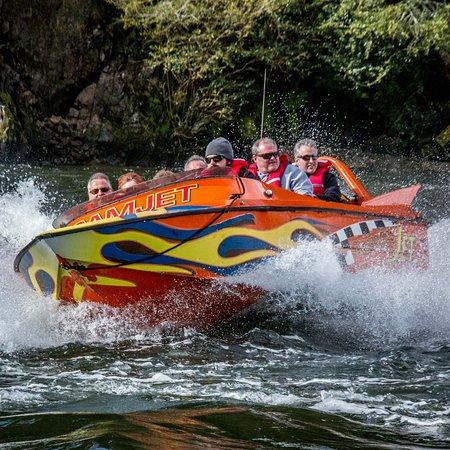 Cambridge, Новая Зеландия: Camjet Jet Boat