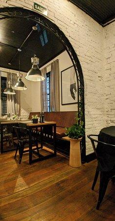 Salão - Foto 2 (vista da mesa que escolhemos)