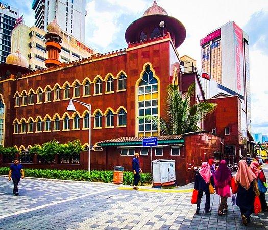 Malaysia: Mosque in Little India Kuala Lumpur