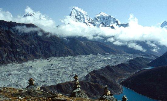 Khumbu, Nepal: ENTRE GOKYO ET KALA PATTHAR
