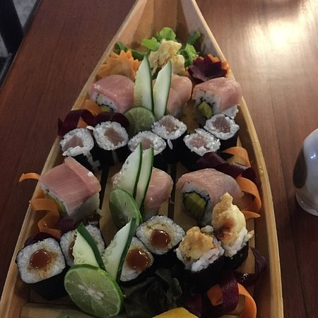 Very good service and good quality of sushi.