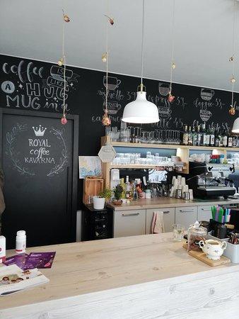 Валашске-Мезиржичи, Чехия: Our cafe bar